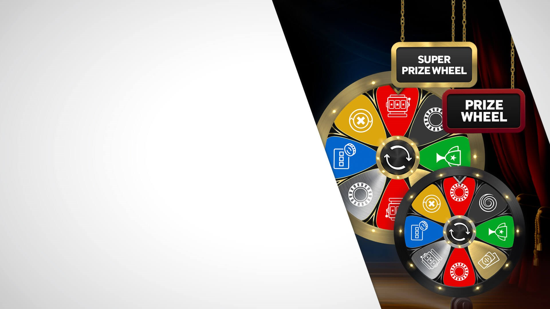 Free Spin on our Prize Wheel each day**